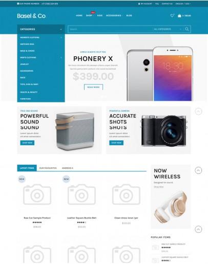 Digital Market Ajax Theme