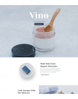 Cosmetics Shop Landing Page