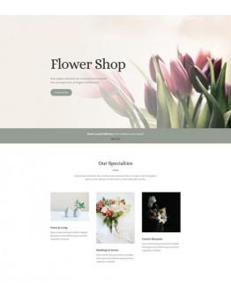 Florist Landing Page