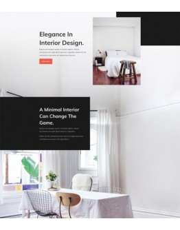 Interior Design Company Landing Page
